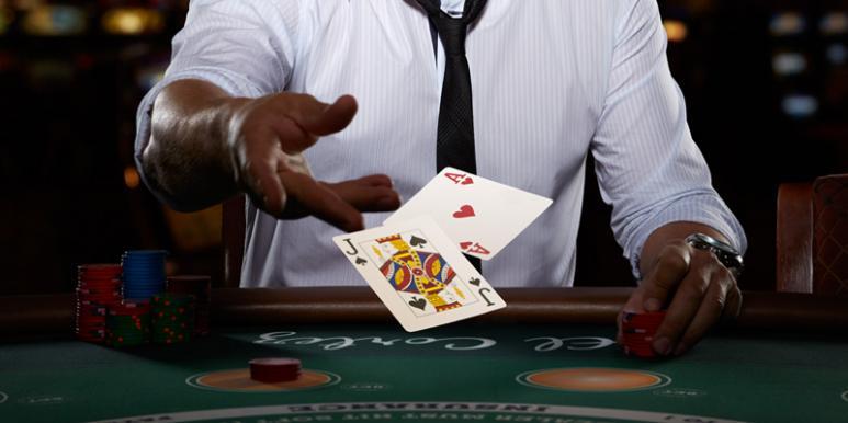 blackjack cartas y jugador